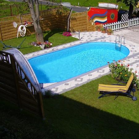 Laguna medence ovális