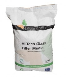 Szűrőüveg Nature Works Hi-Tech 0,4-1mm 20kg