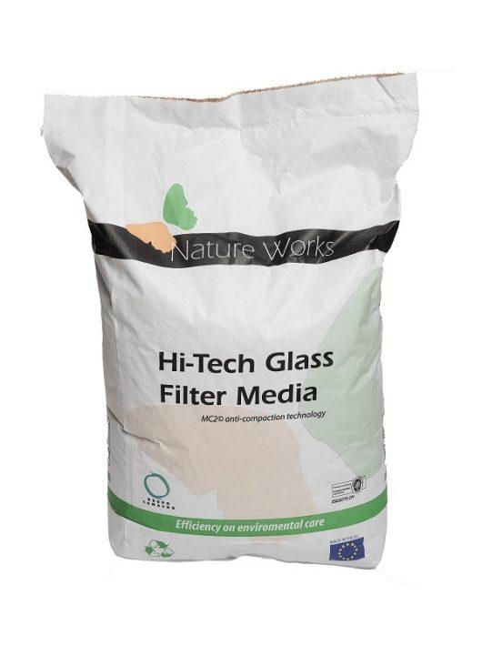Szűrőüveg Nature Works Hi-Tech 0,4-1mm 20kg