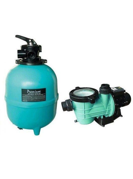 Premium 400 homokszűrős vízforgató 6m3/h Mini Streamer szivattyú