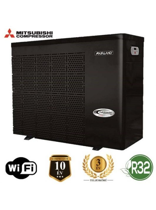 Fairland Inverter Plus Full-inverter medence hőszivattyú IPHC70T