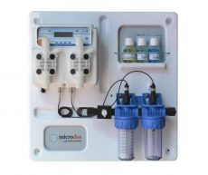 Microdos ME Dual PVDF Panel automata vegyszer adagoló pH - 5,0l/h / RX - 10,0 l/h
