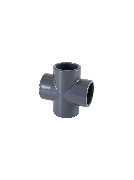 PVC Keresztidom D50mm