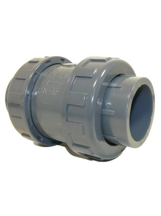 PVC Visszacsapó szelep D20mm