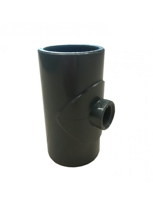 "PVC T idom menetes 1/2"" D50mm"