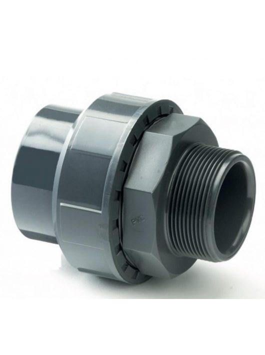 """PVC Hollandi KM 11/4"""" D40mm"""