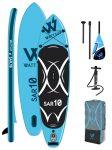 WATTSUP SAR10 felfújható SUP szörfdeszka Stand Up Paddle kék