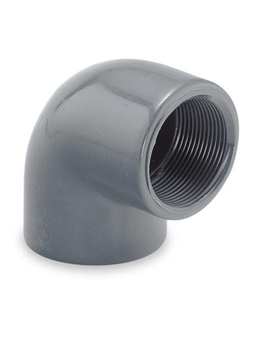 """PVC Könyök 90° BM 11/2"""" D50mm"""