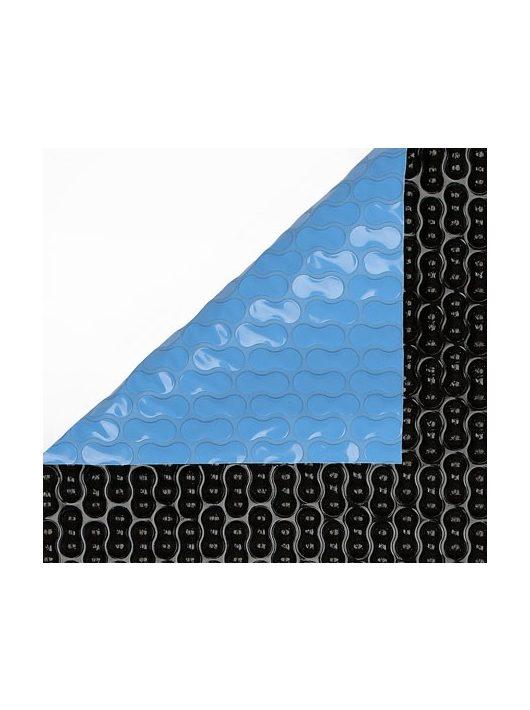 Szolártakaró kék-fekete 400 mikron egyedi hosszban szabva 2-2,5-3-3,5-4-5-6 m széles tekercsből