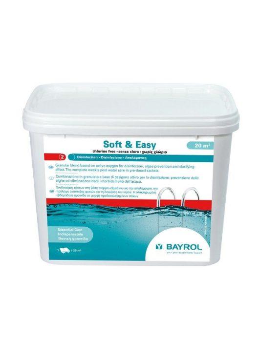 Bayrol Soft & Easy aktív oxigénes vízfertőtlenítő 4,48kg 20m3-es medencéhez