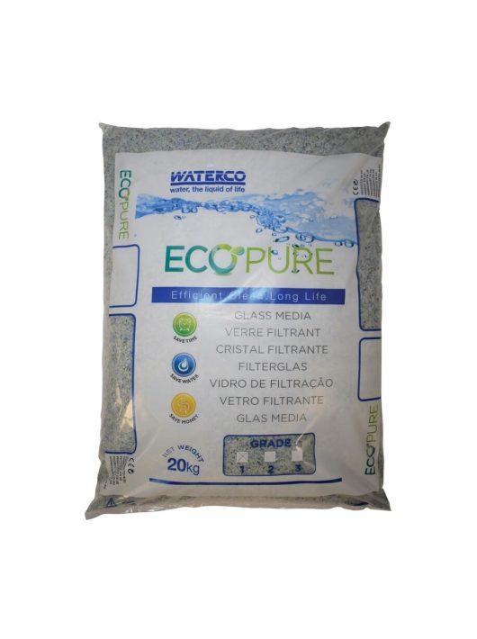 Szűrőüveg Waterco EcoPure 0,5-1mm 20kg