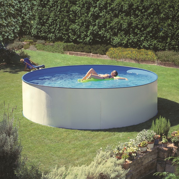 family eco pool round 4 5 x 1 2 m liner 0 3 mm wetro. Black Bedroom Furniture Sets. Home Design Ideas