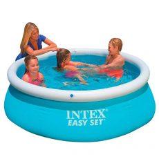 Intex medence kerek Easy Set 183x51cm vízforgató nélkül #28101