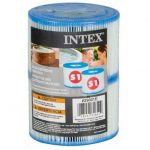 Intex Jacuzzi papírszűrő betét S1 masszázsmedence filter #29001