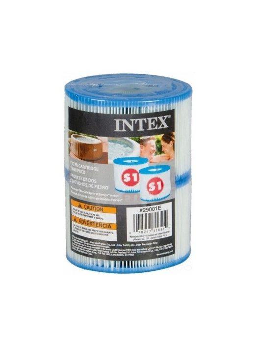 Intex Jacuzzi papírszűrő betét S1 masszázsmedence filter #29001-DUO PACK