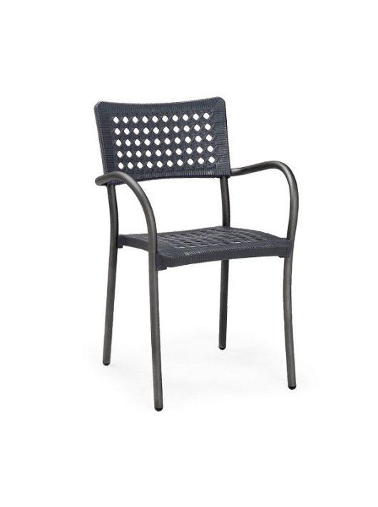 Artica fémvázas szék antracit Nardi