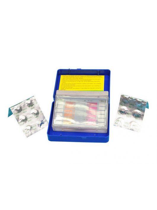 Pool&Spa tablettás vízelemző Basic PH+CL 10-10 tablettával T640