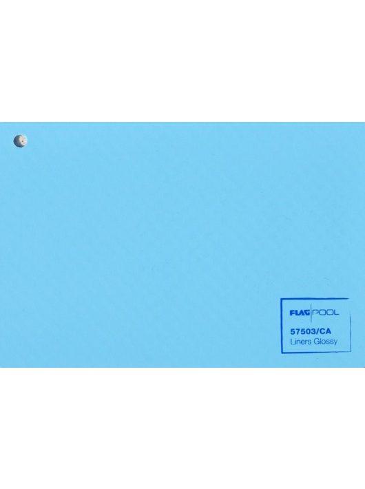 FLAGPOOL Akril szöveterősített fólia 1,5mm világoskék 1,65m 108068/CA .-/m2