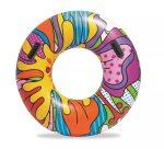 Bestway felfújható színes úszógumi POP Swim Tube #36125