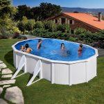 Family Eco Lux medence ovális 5m x 3,5m/1,2m fólia 0,3mm