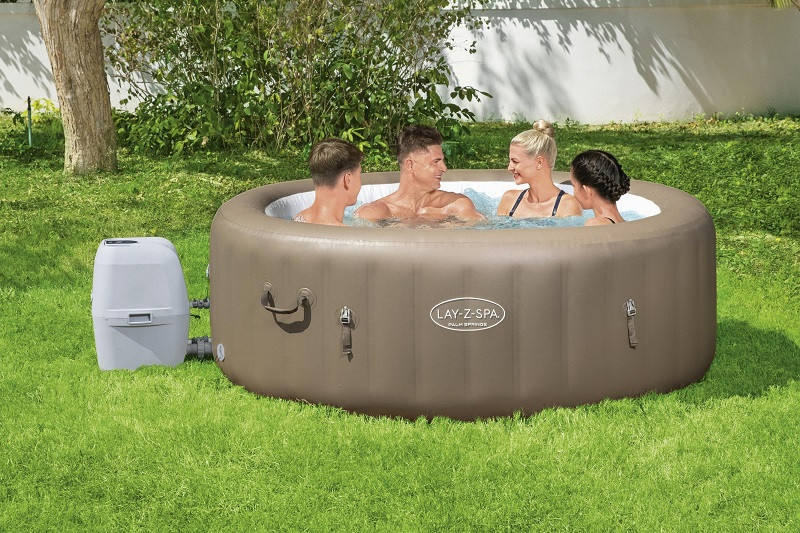 Bestway Lay Z Spa Palm Springs Airjet Jacuzzi 6 Person