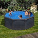 Family Eco Lux Graphite medence kerek 3,5x1,2m