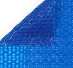 Szolártakaró kék 3 m széles 400 mikron