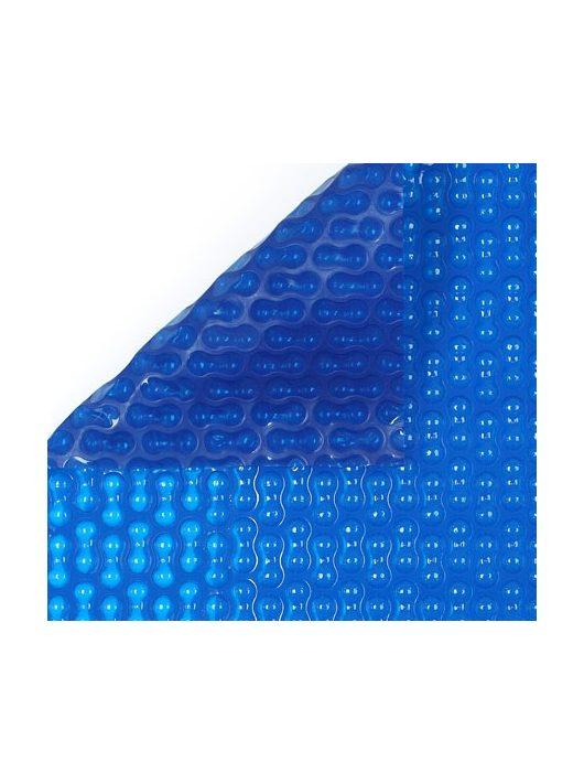 Szolártakaró kék 4 m széles 400 mikron