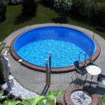 Laguna medence kerek 6x1,5m (fóliavastagság 0,6mm)