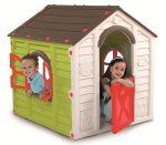 Rancho Playhouse gyerek játszóház zöld-barna KETER