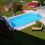 Laguna medence ovális 8x4m/1,5m (fóliavastagság 0,6mm)