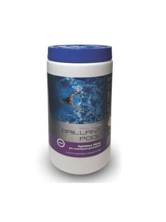 Brillant Pool Optima Mínusz pH csökkentő 2kg granulátum
