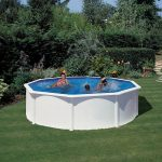 Family Eco Lux pool round 5,5x1,32m (liner: 0,4 mm)