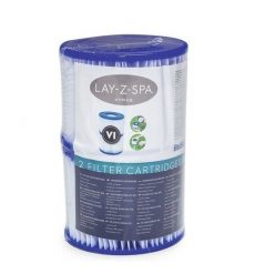Bestway papírszűrő filter VI. typ. 2db Lay-Z-Spa Jacuzzi #58323