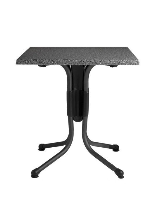 Polo fémvázas asztal 60x60cm antracit Nardi - MINTADARAB!