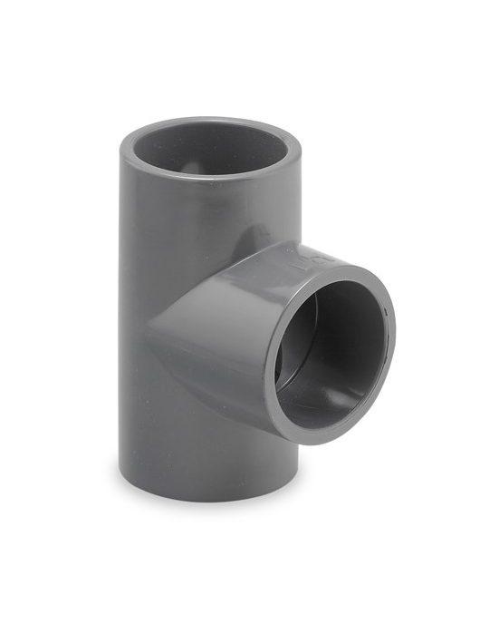 PVC T idom D40mm