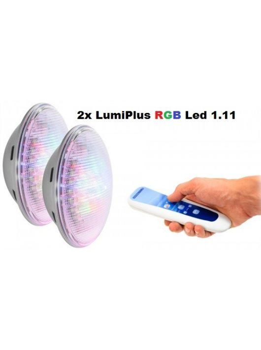 Astral LumiPlus PAR56 RGB 2db színes LED izzó távirányítóval #59127