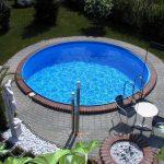 Hobby medence kerek 3,5x0,9 m fólia 0,6 mm