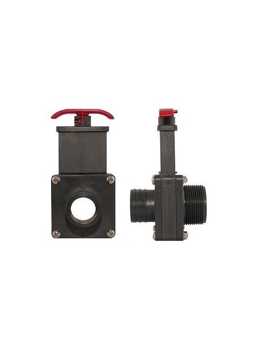 """PVC Tolózár KM 1 1/2"""" és 38mm"""