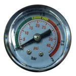 Váltószelep nyomásmérő óra