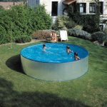 Adria combi pool 3,5x0,9m with ladder and filter system