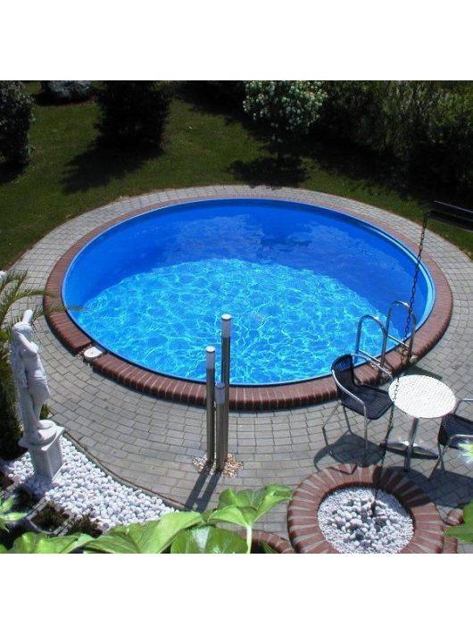 Laguna medence kerek 5x1,2m (fóliavastagság 0,6mm)