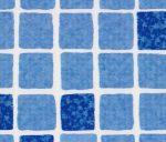 ELBTAL szöveterősített fólia 1,5mm 1,65m kék mozaik .-/fm