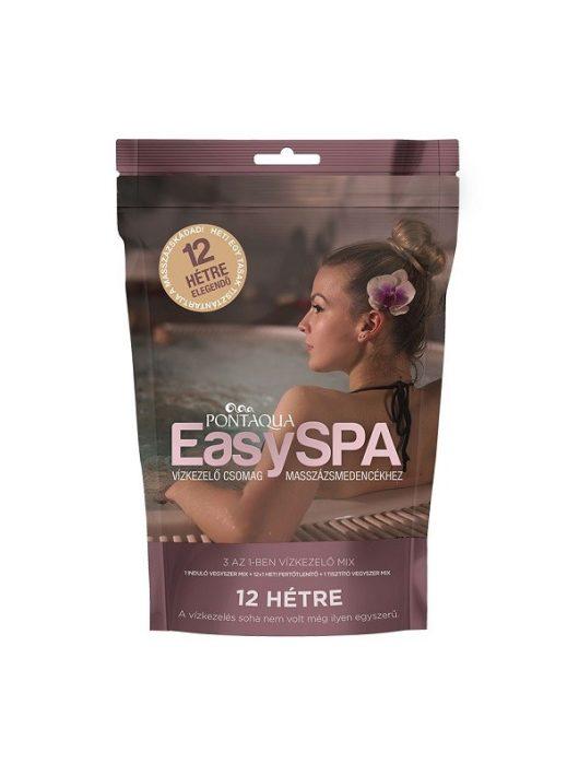 Pontaqua EasySpa 12 heti oxigénes vízkezelő csomag masszázsmedencékhez