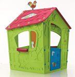 Magic Playhouse gyerek játszóház zöld-lila KETER