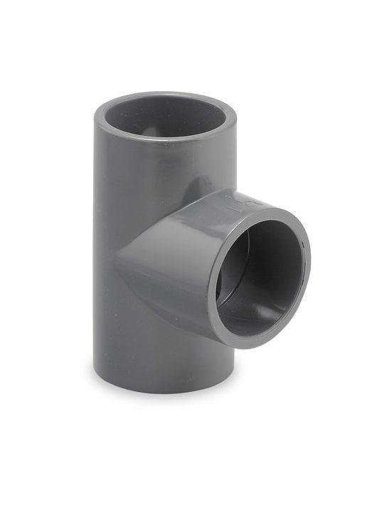 PVC T idom D63mm