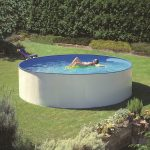 Family Eco medence kerek 4,0x0,9m szkimmerrel, létrával