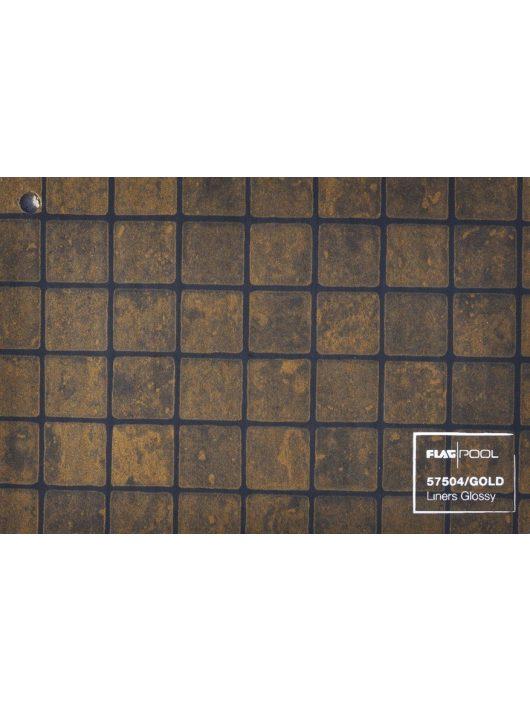 FLAGPOOL Akril szöveterősített fólia 1,5mm arany mozaik 1,65m 57504/GOLD .-/m2