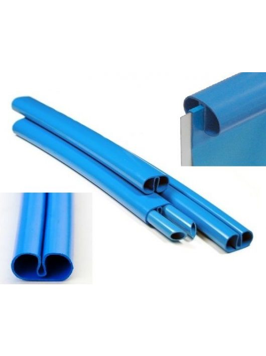 Műanyag medence sín széles 3,5/3,6 +2db stift