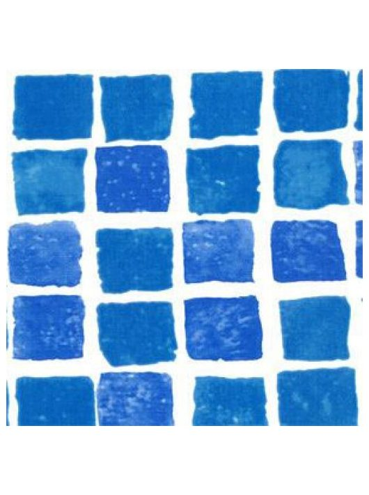 ALKORPLAN 3000 Akril szöveterősített fólia 1,5mm 1,65m mozaik kék .-/m2 35417202